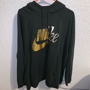 Nike Plus Size Sportswear Rally Metallic Hoodie
